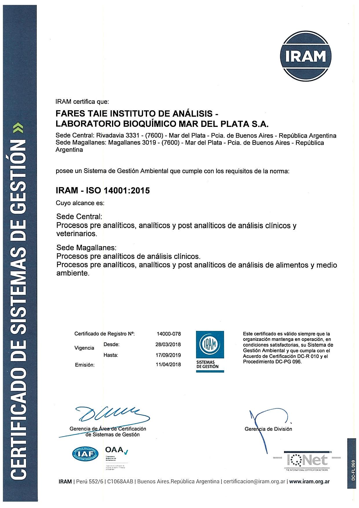 pasos para la certificacion iso 9001